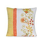 Dena™ Home Meadow Embroidered 16-Inch Square Toss Pillow