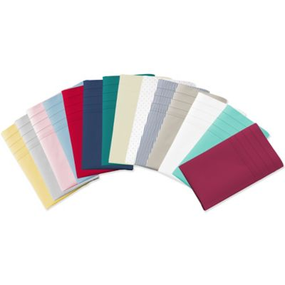Striped Thread Count Cotton Sheets