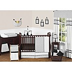 Sweet Jojo Designs Zig Zag Crib Bedding Collection in Grey/Black