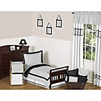 Sweet Jojo Designs Zig Zag Toddler Bedding Collection in Grey/Black