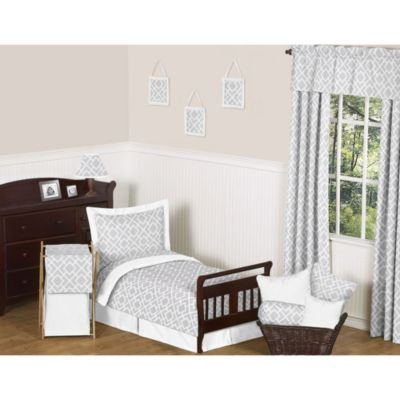Grey and White Toddler & Kids Bedding