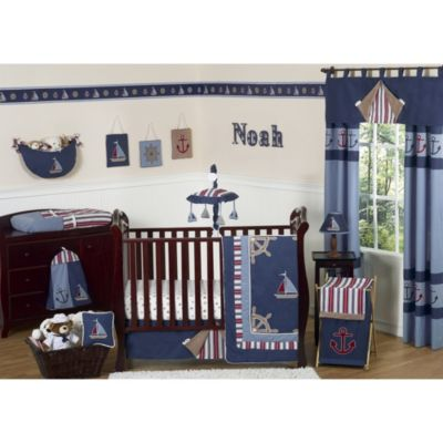 Nautical Comforter and Sheet Sets