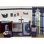 Sweet Jojo Designs Nautical Nights 11-Piece Crib Bedding Set