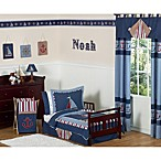 Sweet Jojo Designs Nautical Nights 5-Piece Toddler Bedding Set
