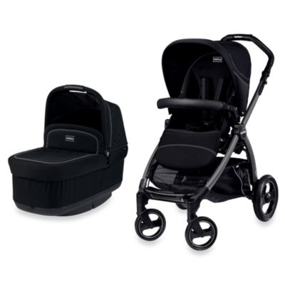 Peg Perego Book Pop-Up Stroller in Onyx