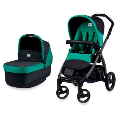 Peg Perego Book Pop-Up Stroller in Aquamarine