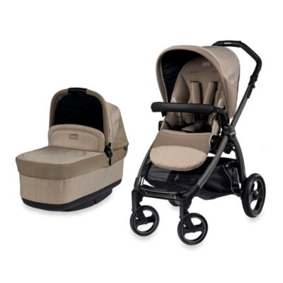 Peg Perego Book Pop-Up Stroller in Cream