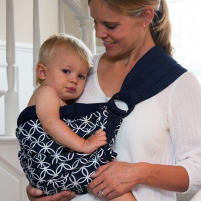 Balboa Baby® Dr. Sears Original Adjustable Baby Sling in Navy/White Circle