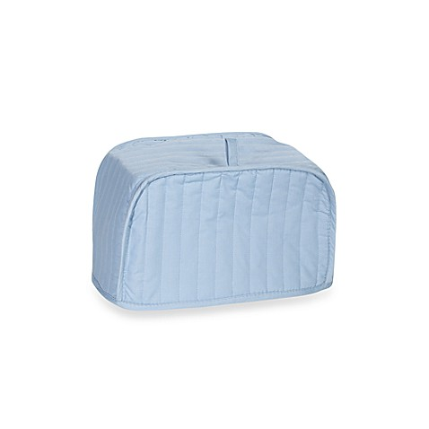 Light Blue Two-Slice Toaster Cover