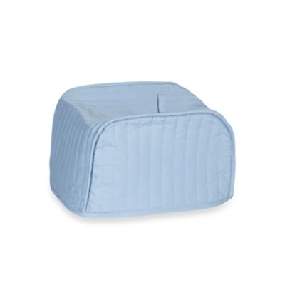Light Blue Four-Slice Toaster Cover