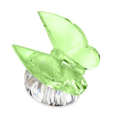Waterford® Butterfly Collectible in Green