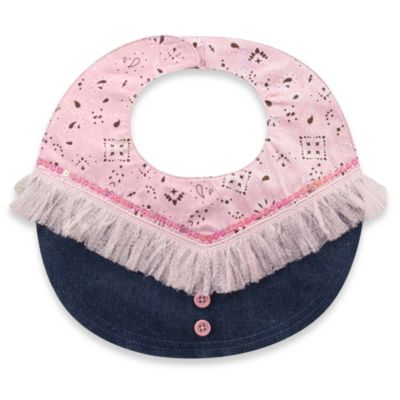 Mud Pie® Cowgirl Denim Bib