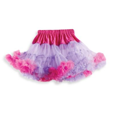 Mud Pie™ Ruffled Pettiskirt in Purple/Hot Pink