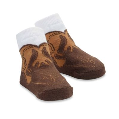 Mud Pie™ Cowboy Boot Sock