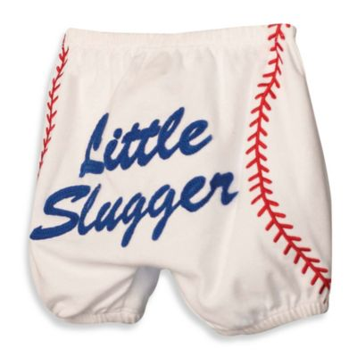 Mud Pie® Diaper Cover with Baseball Applique