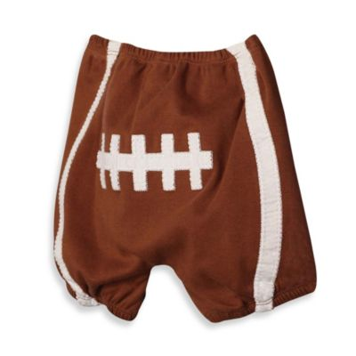 Mud Pie® Diaper Cover with Football Applique