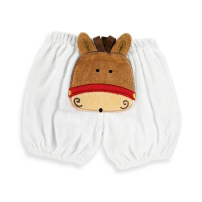 Mud Pie® Diaper Cover with Horse Applique