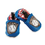 Mud Pie™ Size 0-6M Baseball Shoes in Blue