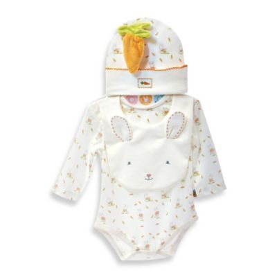 Bunnies by the Bay 4-Piece Bunny Cuddle Me Apparel Set