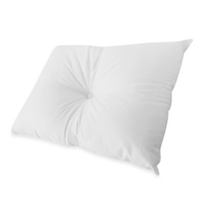 Sleepwell Pillow with Dimple in White