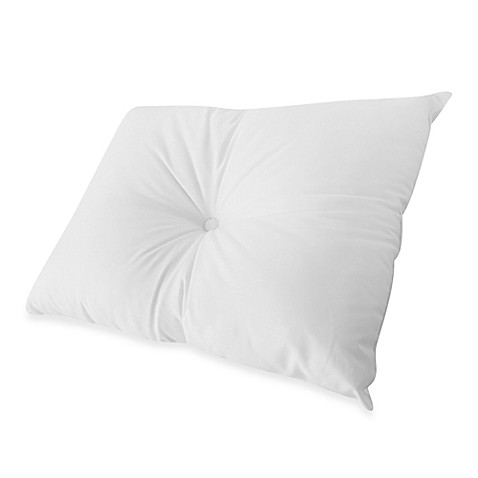 Buy Sleepwell Pillow With Dimple In White From Bed Bath