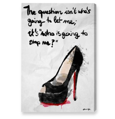 "Fashion ""High Heel"" Canvas Art"
