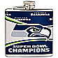 NFL Seattle Seahawks Super Bowl XLVIII Champions 6-Ounce Flask