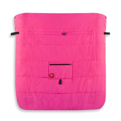 kushies® Blue Banana™ Double Stroller Blanket in Pink
