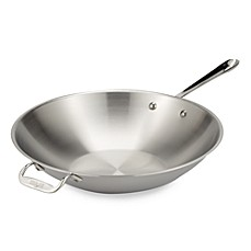 All-Clad Stainless Steel 14-Inch Stir Fry Pan