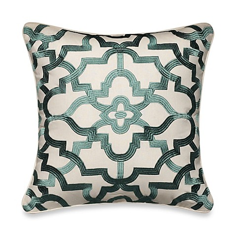 Tommy Bahama Decorative Bed Pillows : Tommy Bahama Paradise Palm Medallion Square Throw Pillow - Bed Bath & Beyond
