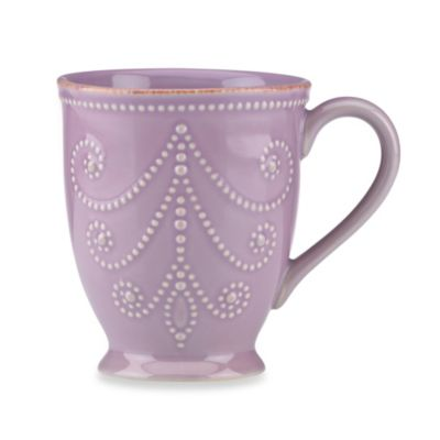 French Perle Mug in Violet