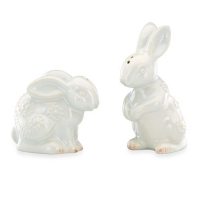 Lenox® French Perle Rabbit 4.5-Inch Salt and Pepper Set