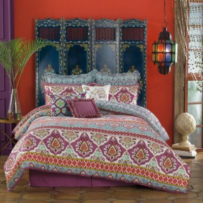 Anthology™ Theadora Reversible King Comforter Set in Multi