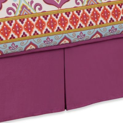 Anthology™ Theadora Twin Bed Skirt in Mauve