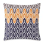 Jill Rosenwald® Plimpton Flame Allover Embroidered Square Toss Pillow