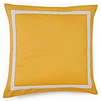 Jill Rosenwald® Plimpton Flame Mitered Frame Square Toss Pillow