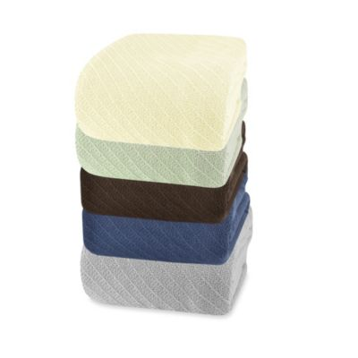 Wamsutta® Classic Cotton Twin Blanket in Wheat