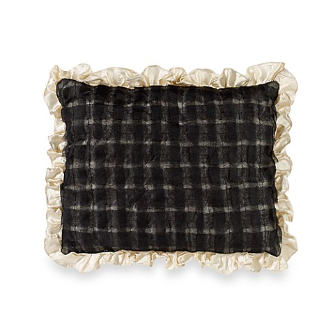 Kay Unger Bolero Black Breakfast Pillow