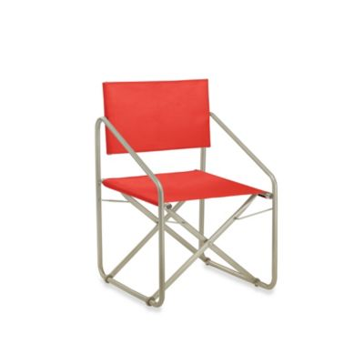 Brown Jordan Nomad II Folding Armchair in Garden Green