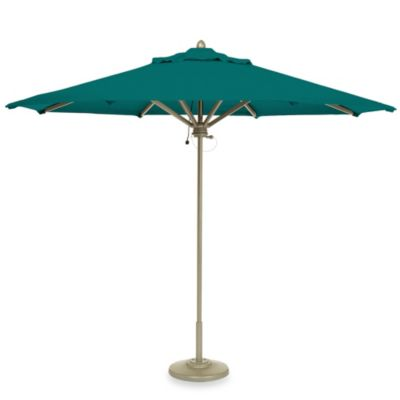 Brown Jordan 9-Foot Octagon Patio Umbrella in Bermuda