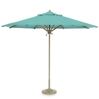 Brown Jordan 9-Foot Octagon Patio Umbrella in Splash