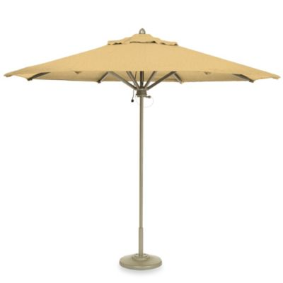 Brown Jordan 9-Foot Octagon Patio Umbrella in Maize