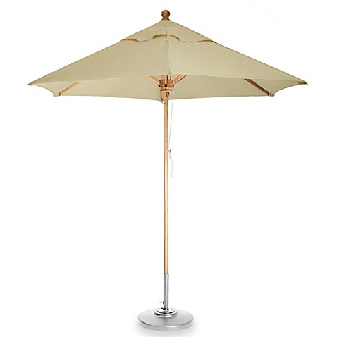 brown 8 foot octagon patio umbrella bed bath beyond