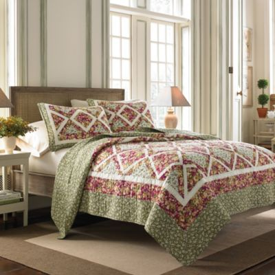 Laura Ashley® Ashton Twin Quilt