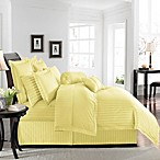 Wamsutta® 500 Damask Duvet Cover Set in Yellow