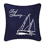 Sail Away Square Toss Pillow