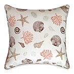 Seashore Square Toss Pillow