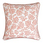 Coral Cape Square Toss Pillow