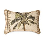 Tapestry Palm Tree Oblong Toss Pillow