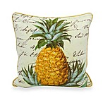 Newport Pineapple Square Toss Pillow
